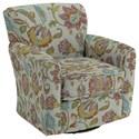 Best Home Furnishings Swivel Glide Chairs Kaylee Swivel Barrel Chair - Item Number: 2887-35508