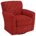 Best Home Furnishings Swivel Glide Chairs Kaylee Swivel Barrel Chair - Item Number: 2887-39124