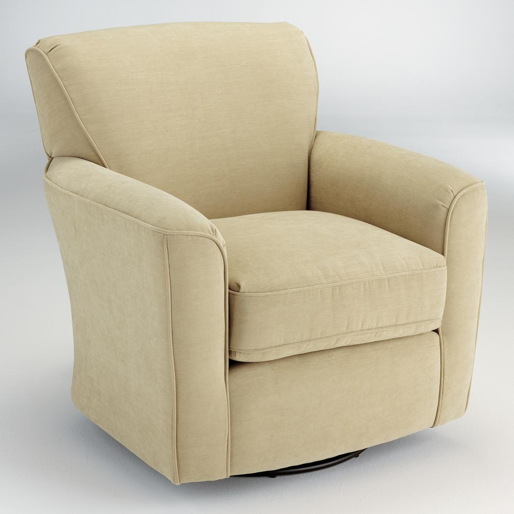 Swivel Kaylee Swivel Barrel Chair by Best Home Furnishings at Walker's Furniture