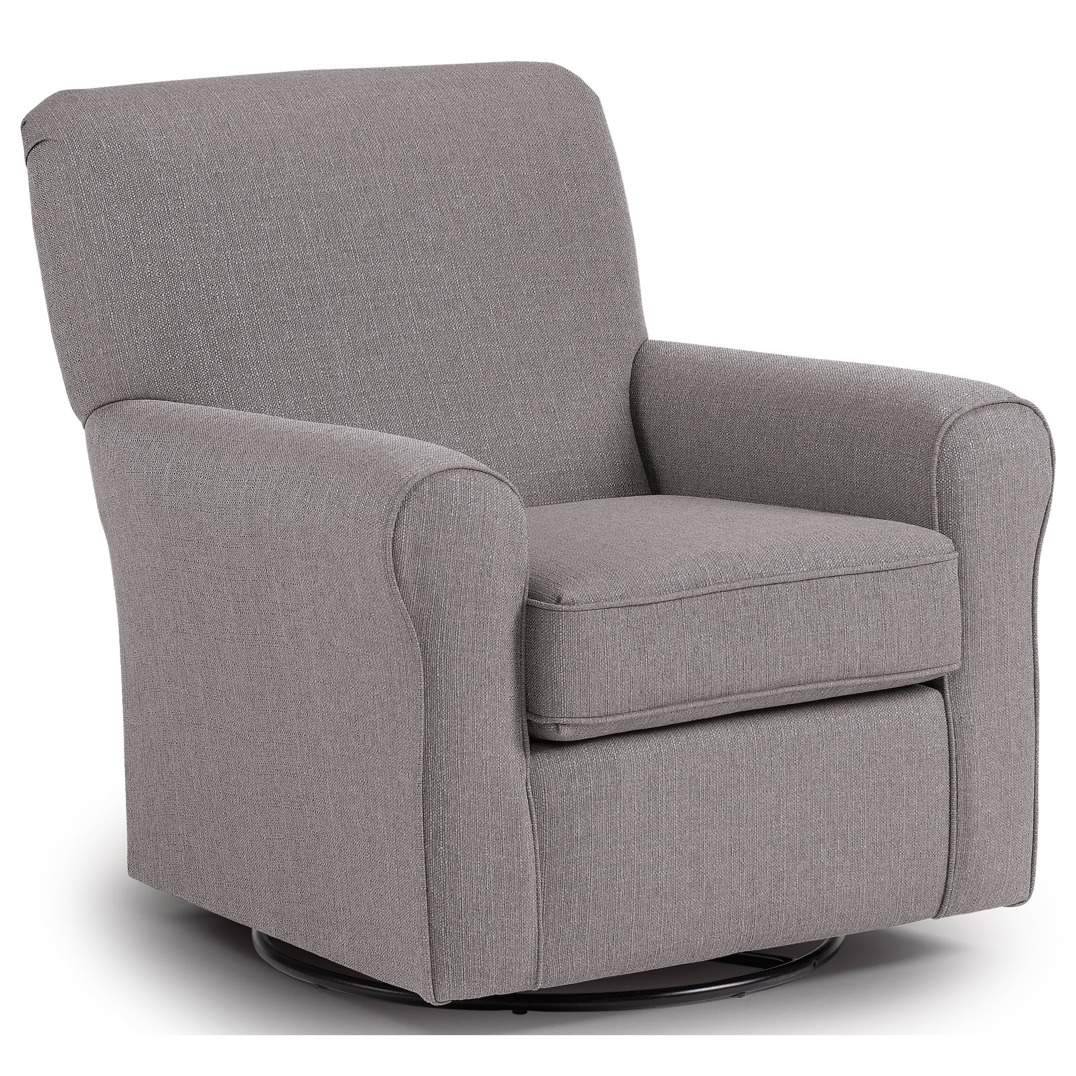 Swivel Glide Chairs Hagen Swivel Glide by Best Home Furnishings at Baer's Furniture