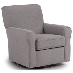 Best Home Furnishings Swivel Glide Chairs Hagen Swivel Glide