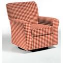 Best Home Furnishings Swivel Glide Chairs Hagen Swivel Glide - Item Number: 4177-28068
