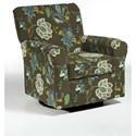 Best Home Furnishings Swivel Glide Chairs Hagen Swivel Glide - Item Number: 4177-28603