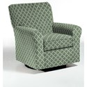 Best Home Furnishings Swivel Glide Chairs Hagen Swivel Glide - Item Number: 4177-28842