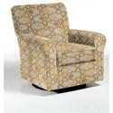 Best Home Furnishings Swivel Glide Chairs Hagen Swivel Glide - Item Number: 4177-30565