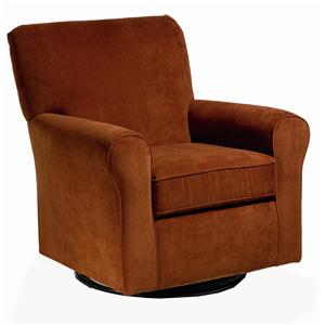 Morris Home Furnishings Chairs - Swivel Glide Hagen Swivel Glide