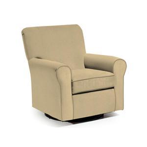 Best Home Furnishings Chairs - Swivel Glide Cocoa Swivel Glider Chair