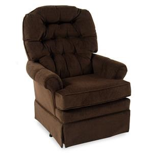 Best Home Furnishings Chairs - SGR Swivel Rocking Chair