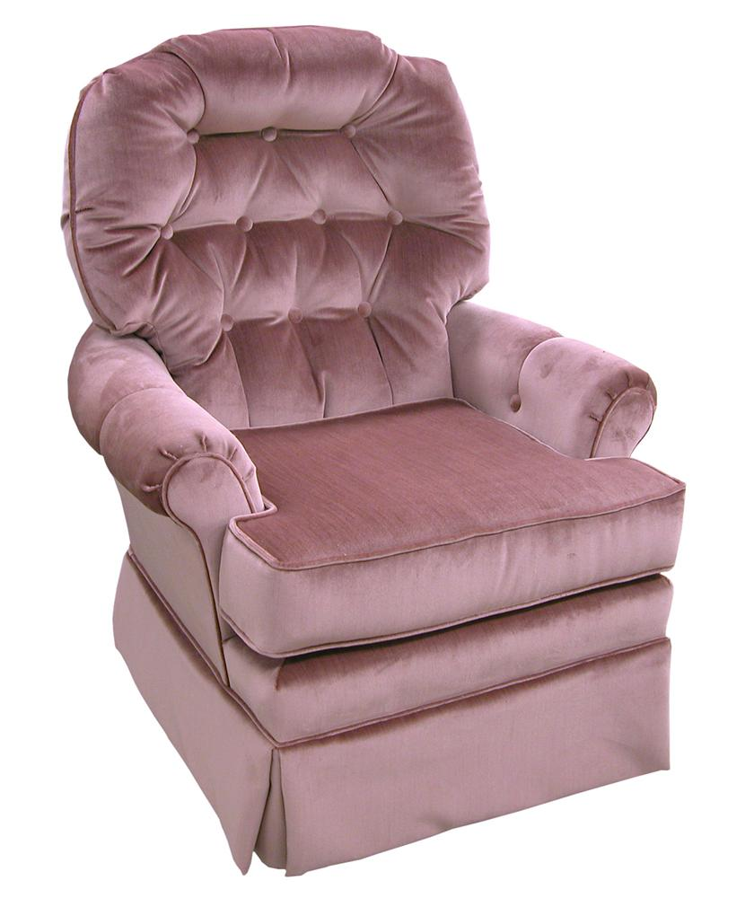 Best Home Furnishings Chairs - Swivel Glide Jadyn Swivel Glide Chair - Item Number: 4519