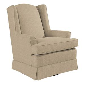 Morris Home Furnishings Chairs - Swivel Glide Natasha Swivel Glider
