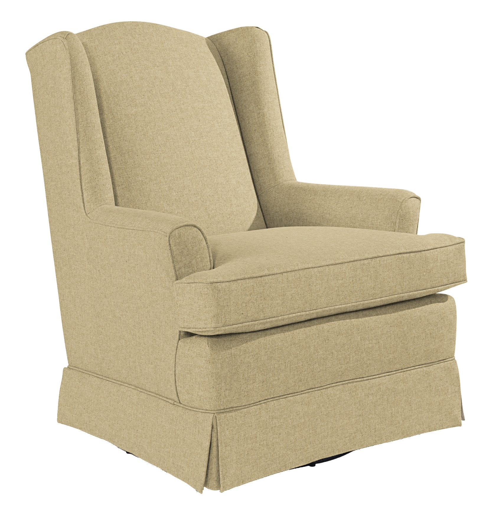 Best Home Furnishings Chairs - Swivel Glide Natasha Swivel Glider - Item Number: 7147-34159