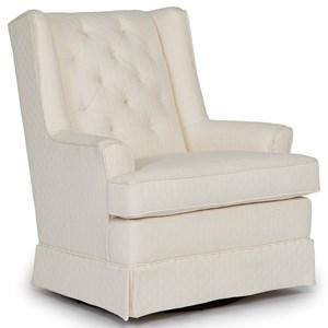 Morris Home Chairs - Swivel Glide Swivel Glider
