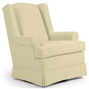 Roni Swivel Glider Chair