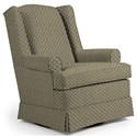 Best Home Furnishings Swivel Glide Chairs Roni Swivel Glider Chair - Item Number: 7197-23793