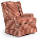 Best Home Furnishings Swivel Glide Chairs Roni Swivel Glider Chair - Item Number: 7197-28068