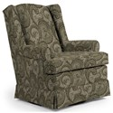 Best Home Furnishings Swivel Glide Chairs Roni Swivel Glider Chair - Item Number: 7197-28529