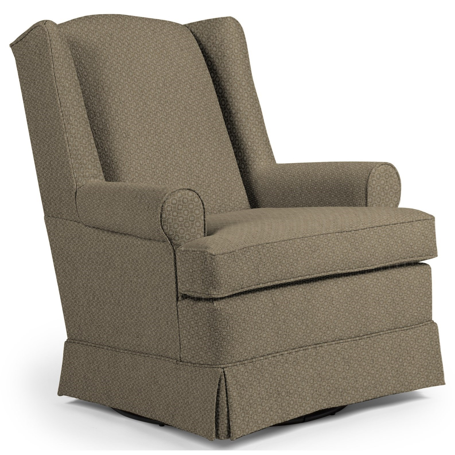 Best Home Furnishings Chairs - Swivel Glide Roni Swivel Glider Chair - Item Number: 7197-28713