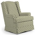 Best Home Furnishings Swivel Glide Chairs Roni Swivel Glider Chair - Item Number: 7197-28841