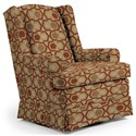 Best Home Furnishings Swivel Glide Chairs Roni Swivel Glider Chair - Item Number: 7197-30564