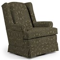 Best Home Furnishings Swivel Glide Chairs Roni Swivel Glider Chair - Item Number: 7197-34656