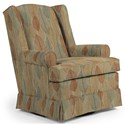 Best Home Furnishings Swivel Glide Chairs Roni Swivel Glider Chair - Item Number: 7197-34914