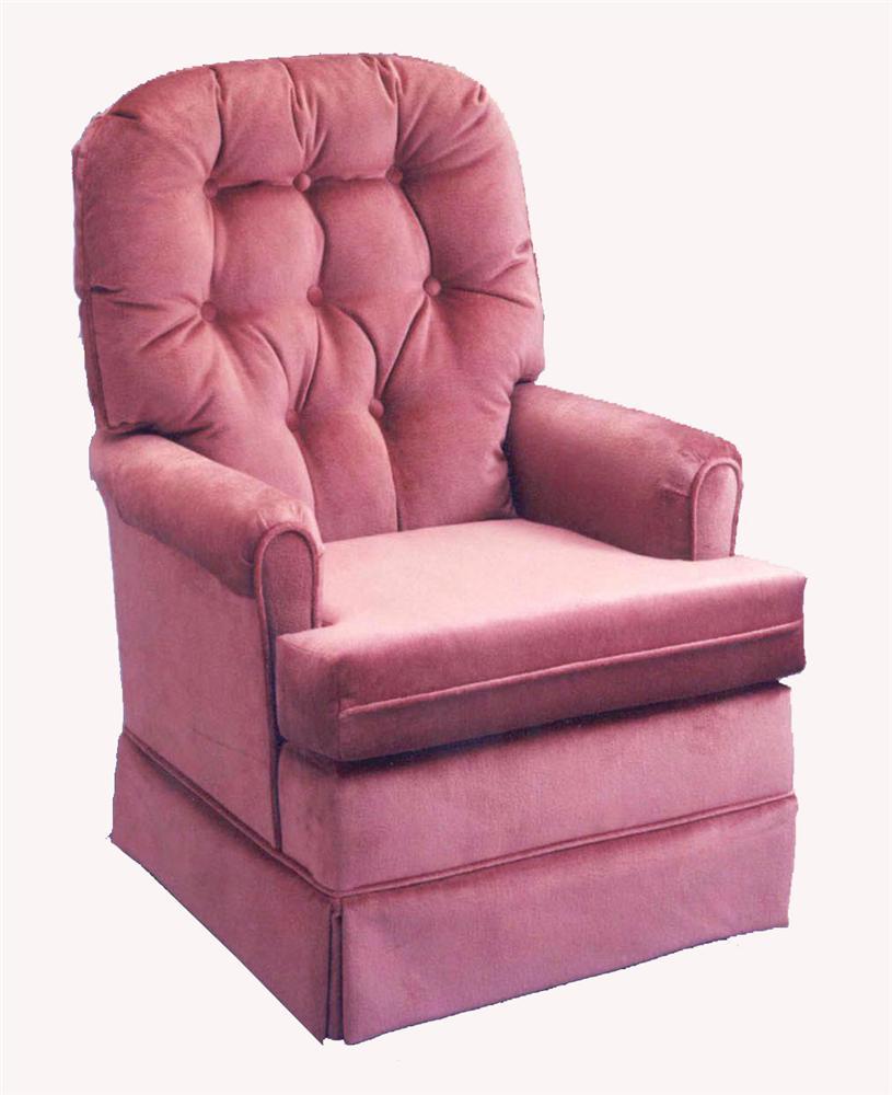 Best Home Furnishings Chairs - Swivel Glide Joplin Swivel Rocker Chair - Item Number: H1009