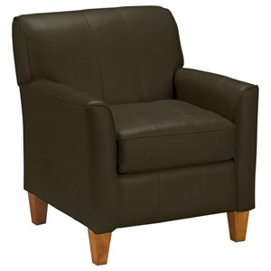 Best Home Furnishings Club Chairs Risa Club Chair