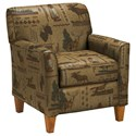 Best Home Furnishings Club Chairs Risa Club Chair - Item Number: -1159276652-31767