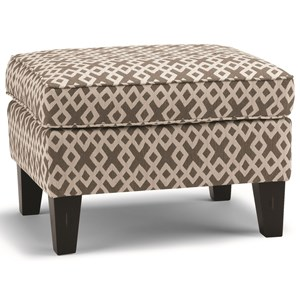 Best Home Furnishings Club Chairs Ottoman