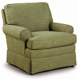 Best Home Furnishings Club Chairs Quinn Club Chair