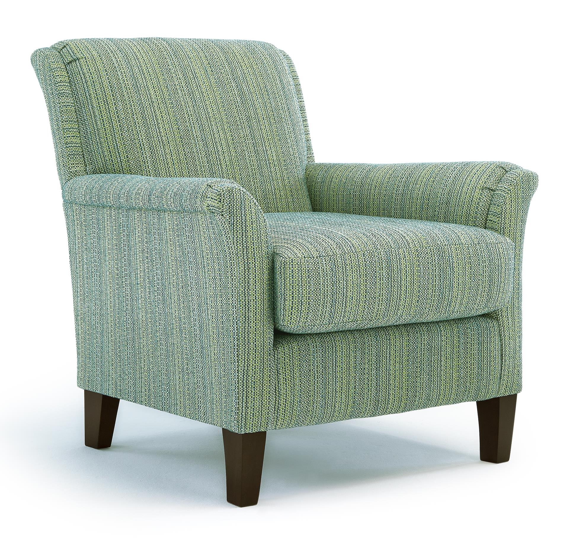 Best Home Furnishings Chairs - Club Carson Club Chair - Item Number: 2010-23051