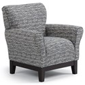 Studio 47 Club Chairs Aiden Club Chair - Item Number: 2060E