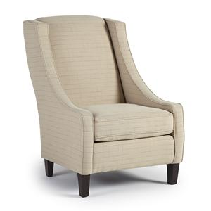 Best Home Furnishings Club Chairs Janice Club Chair