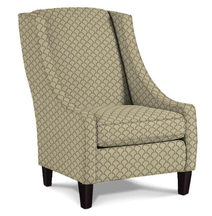 Best Home Furnishings Chairs - Club Janice Club Chair - Item Number: 2090E 23793 ALUMINUM