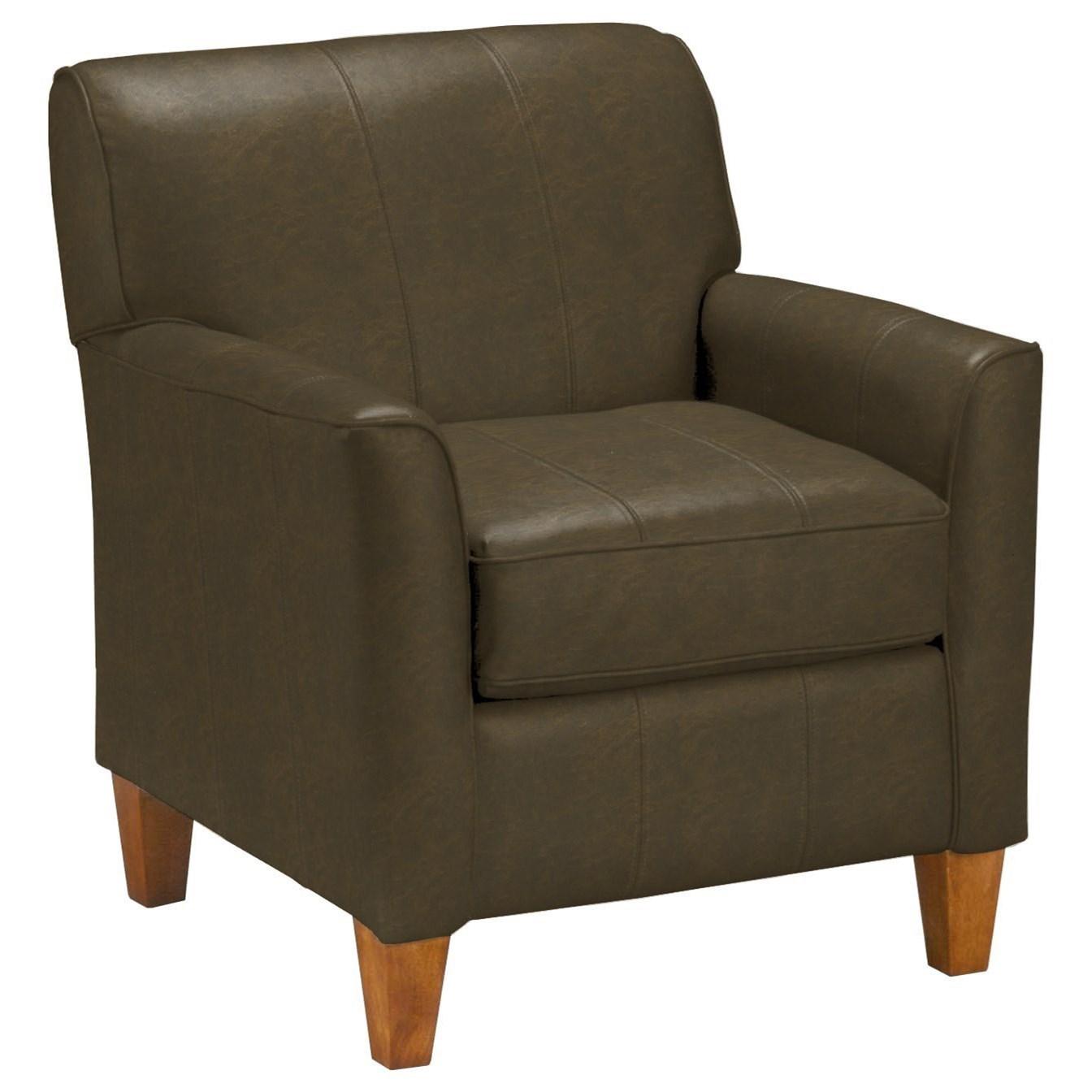 Best Home Furnishings Chairs - Club Risa Club Chair - Item Number: 4190-24786U