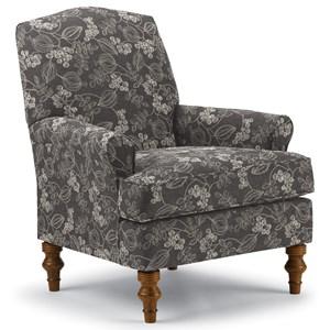 Camel-Back Club Chair