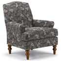 Best Home Furnishings Club Chairs Camel-Back Club Chair - Item Number: 4210-34043