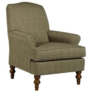 Vendor 411 Chairs - Club Camel-Back Club Chair