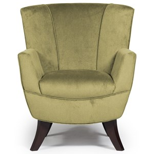 Best Home Furnishings Club Chairs Bethany Club Chair