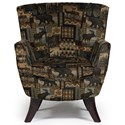 Best Home Furnishings Chairs - Club Bethany Club Chair - Item Number: 4550-27909
