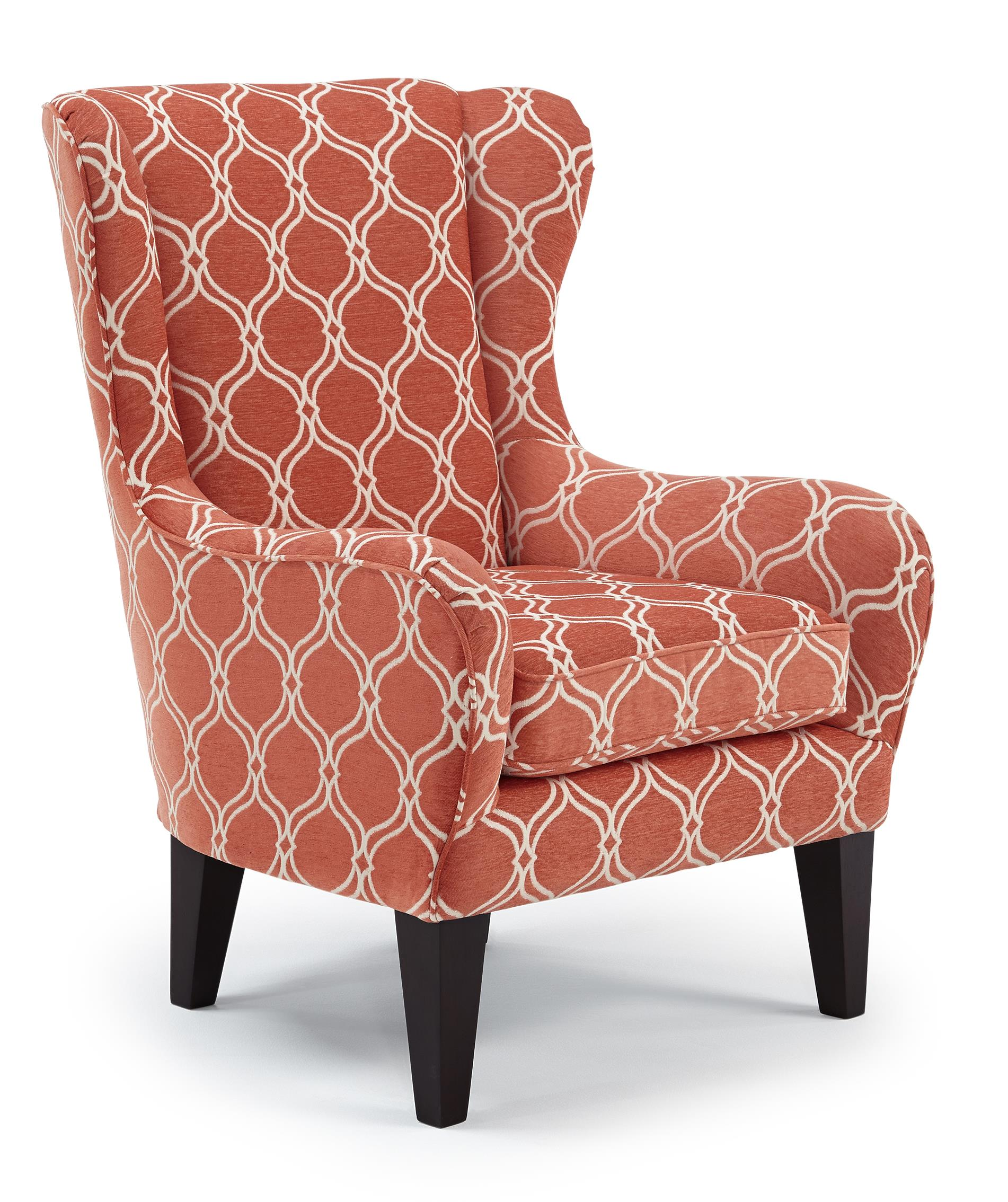 Best Home Furnishings Chairs - Club Lorette Club Chair - Item Number: 7180-28424