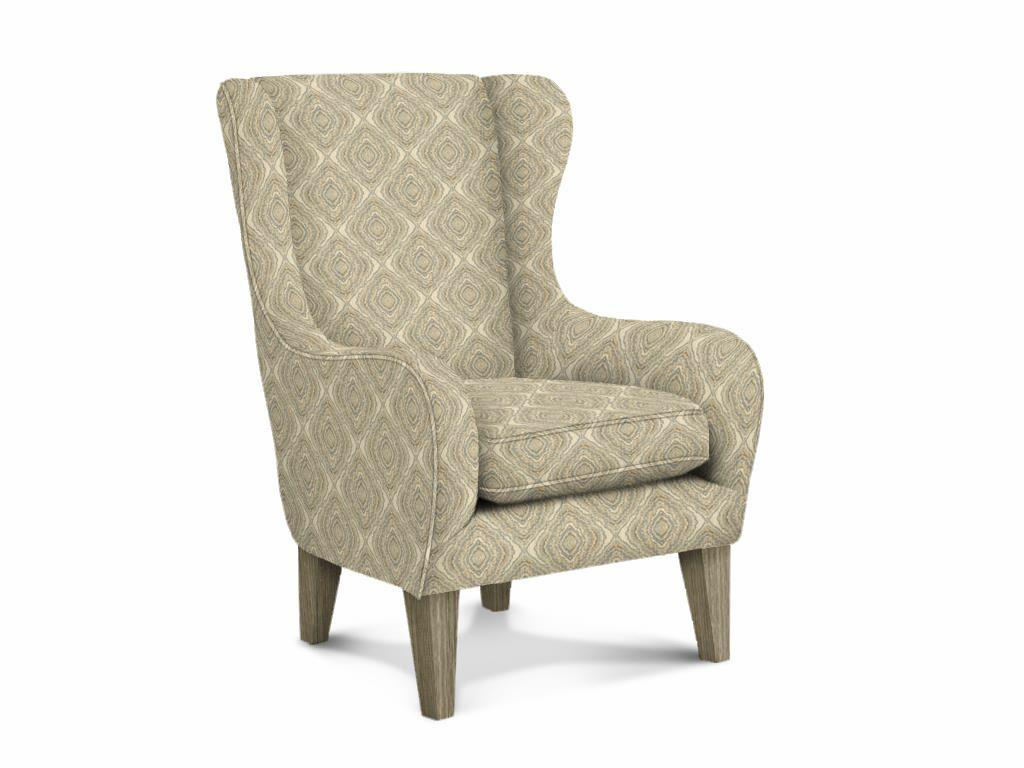 Oatmeal Wingback Chair