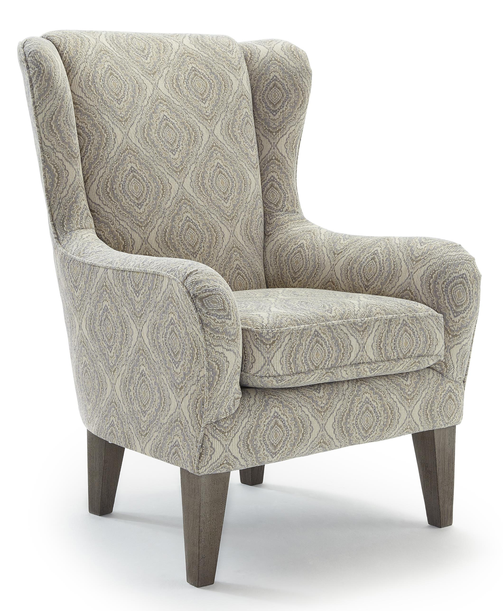 Club Chairs Lorette Club Chair by Best Home Furnishings at Darvin Furniture