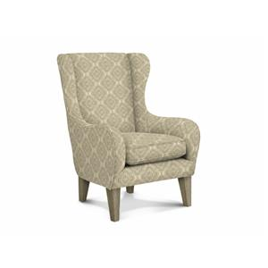 Oatmeal Wingback Chair