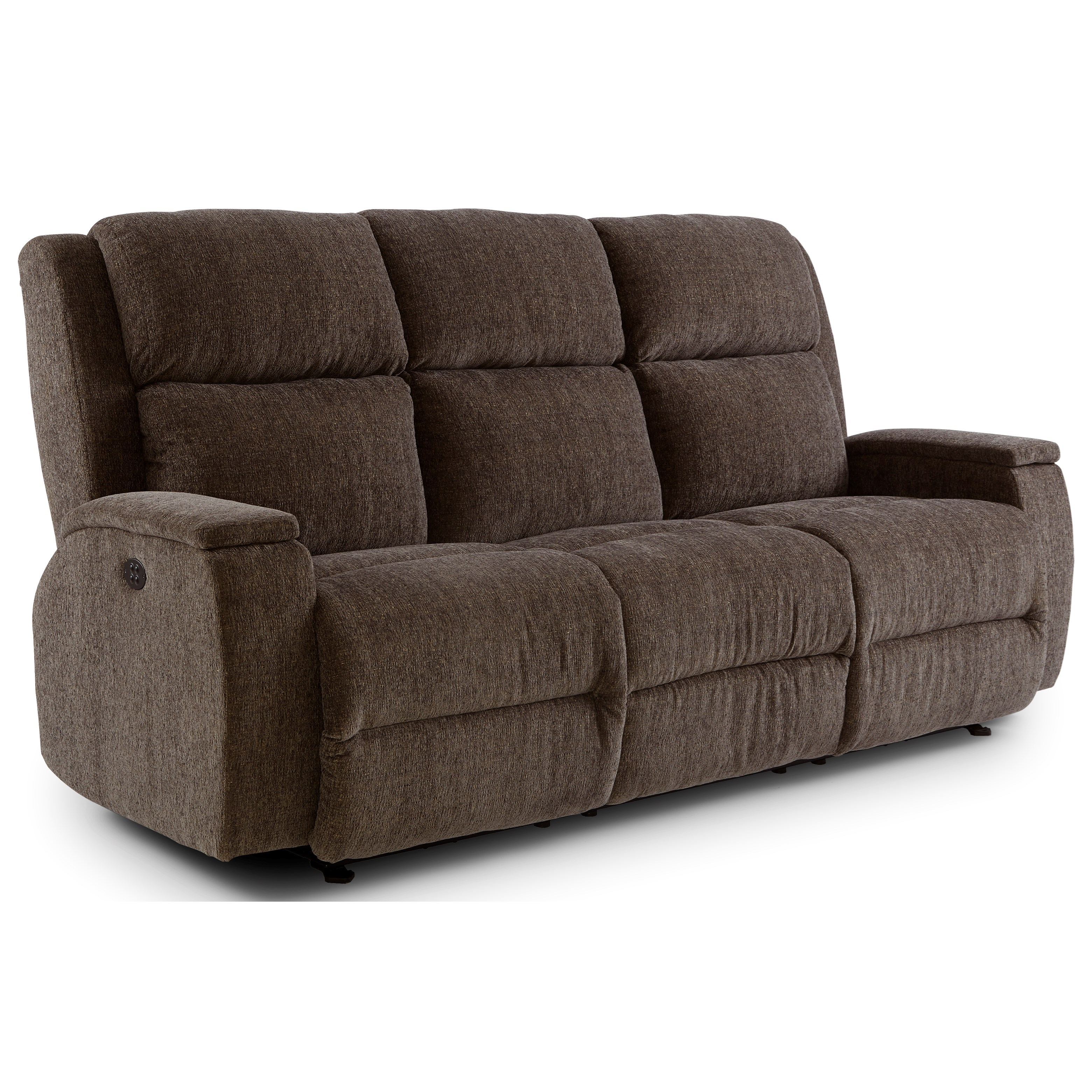 Best Home Furnishings Colton Power Walhugger Recl Sofa w/ Pwr Headrest - Item Number: S740RZ4 01