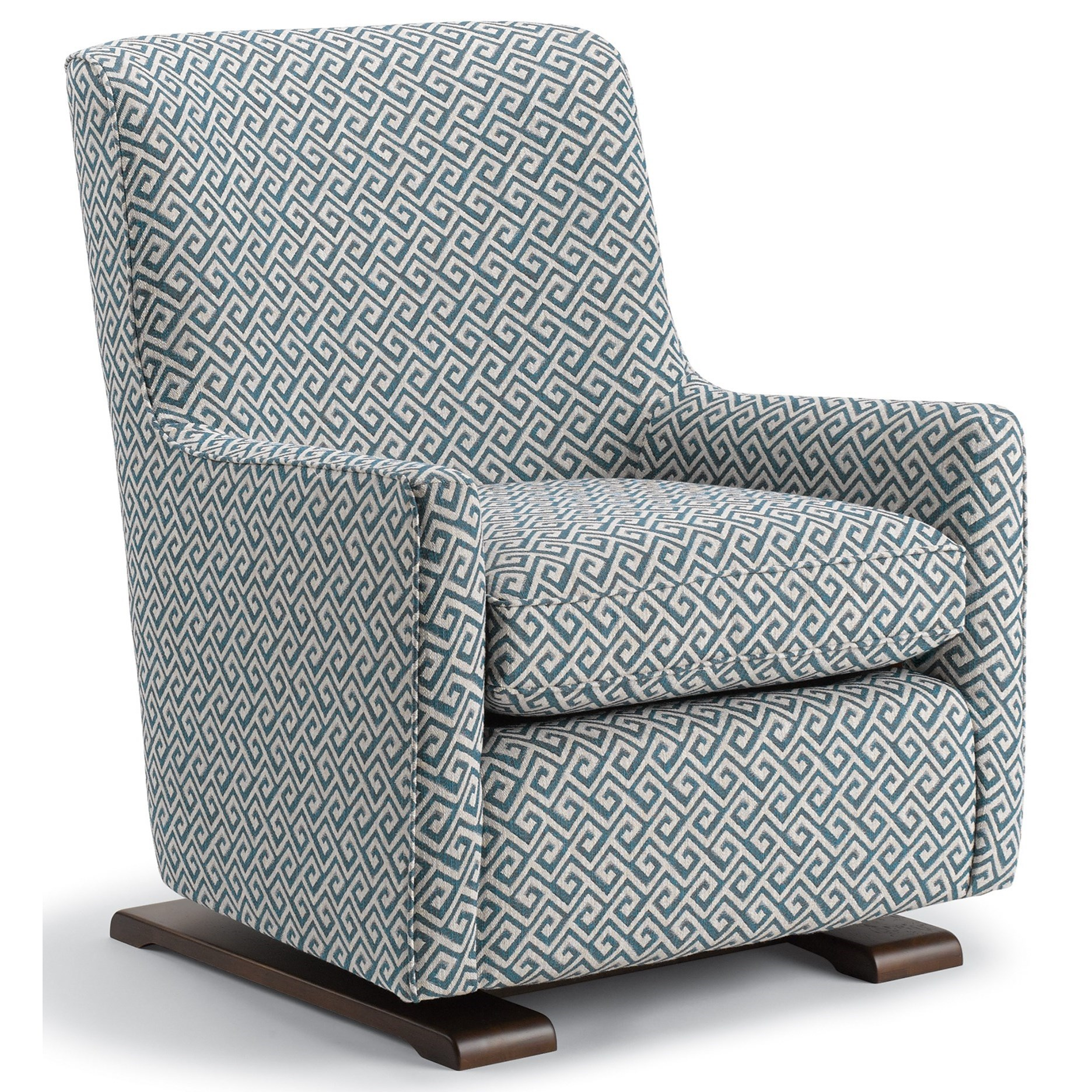 Coral  Swivel Glider Chair by Best Home Furnishings at Johnny Janosik
