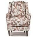 Best Home Furnishings Crew Swivel Barrel Chair - Item Number: 3118-27254