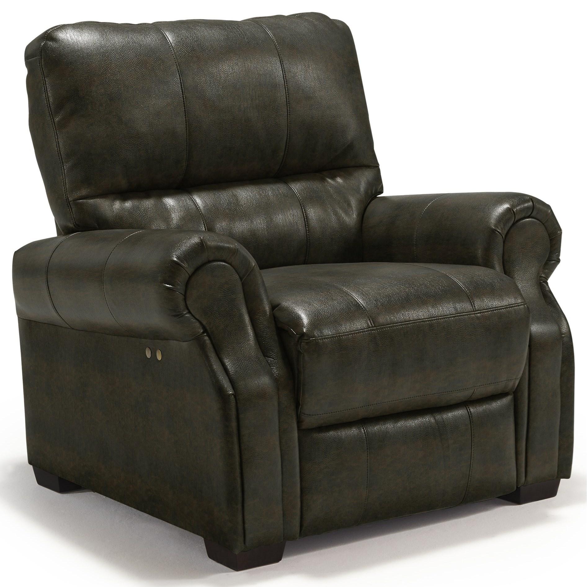 Best Home Furnishings Damien Power High Leg Recliner - Item Number: 2003483532-24783U