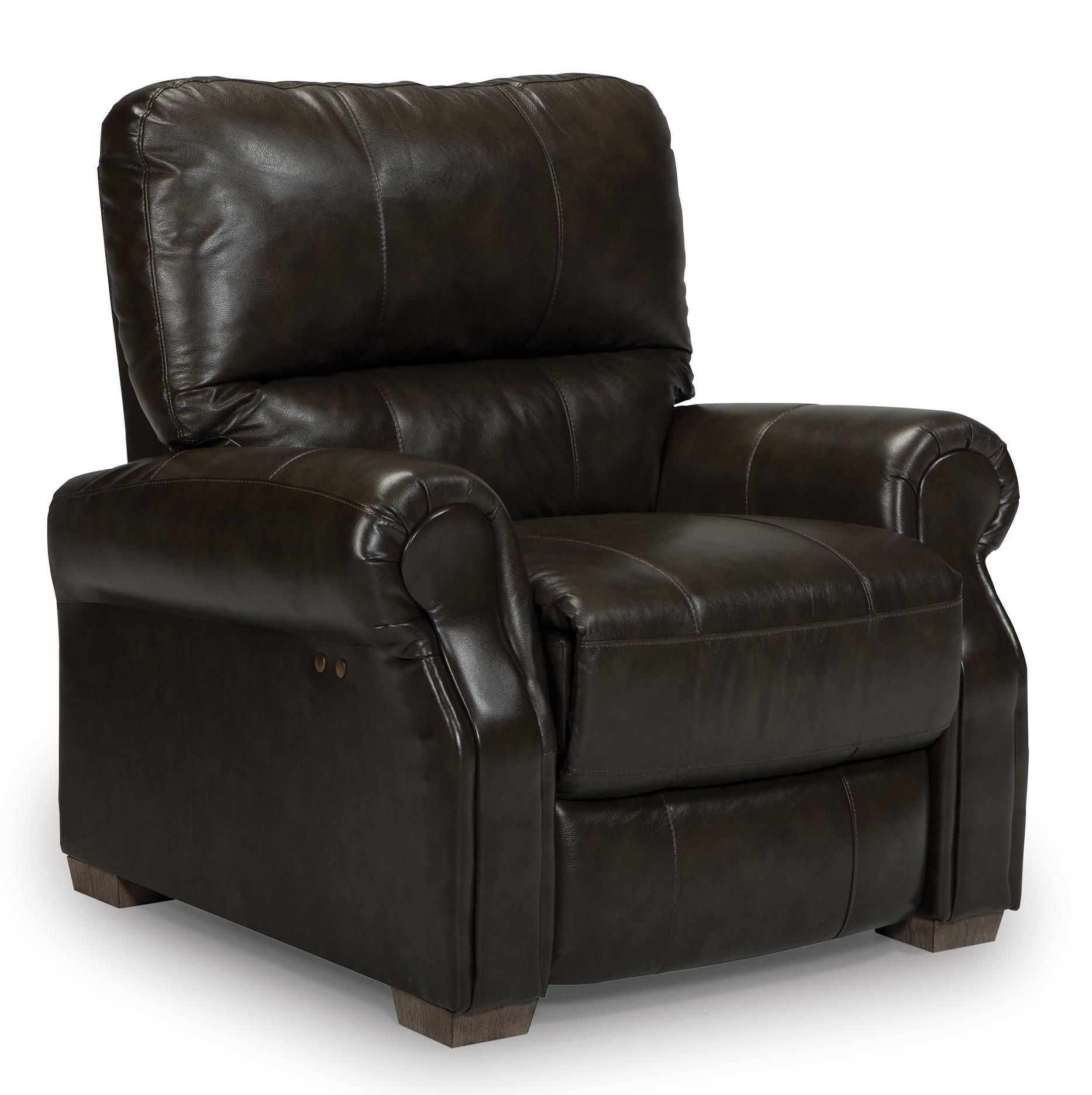 Best Home Furnishings Damien Power High Leg Recliner - Item Number: S910CP2-73106LV