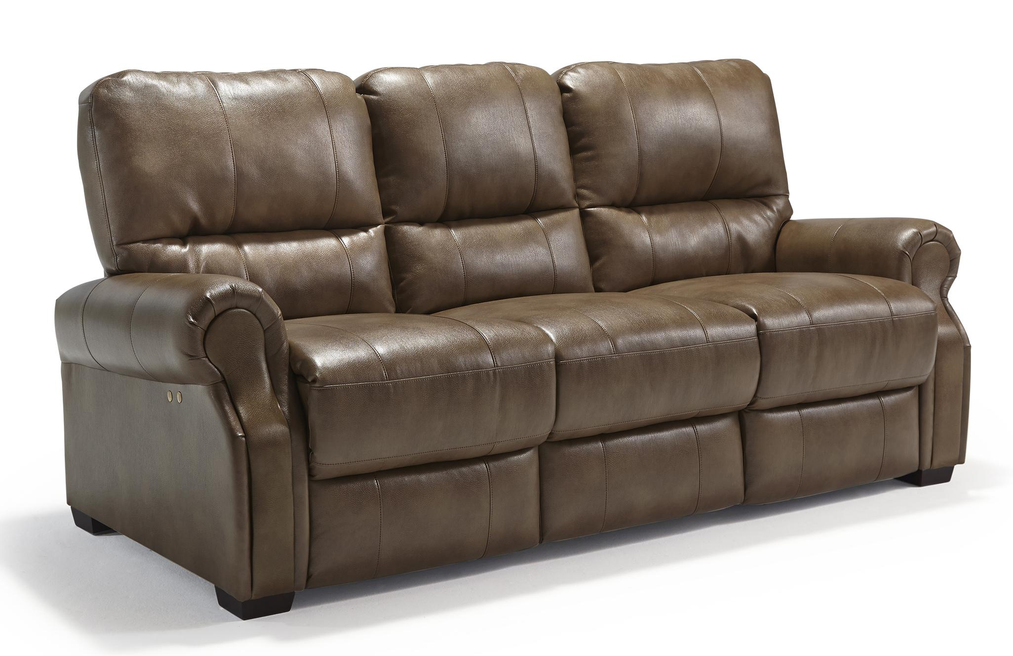 Best Home Furnishings Damien Power Reclining Sofa - Item Number: S910UP2-26766U